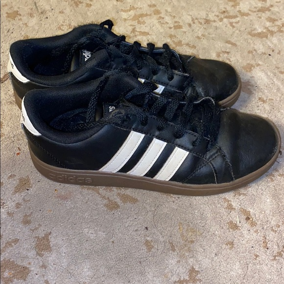 adidas Shoes | Boys Black And White